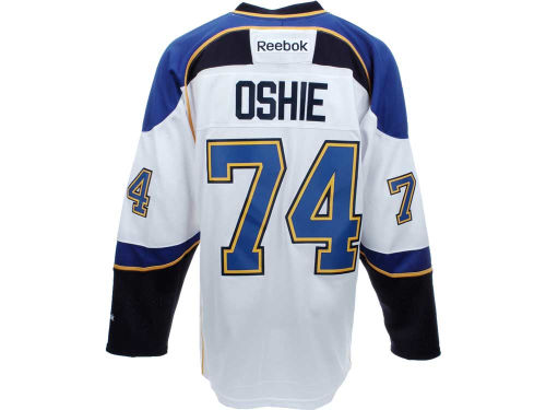 St. Louis Blues T.J. Oshie Reebok NHL Premier Player Jersey
