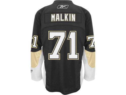 Pittsburgh Penguins Evgeni Malkin Reebok NHL Premier Player Jersey