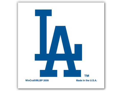 Los Angeles Dodgers Wincraft Tattoo 4 Pack