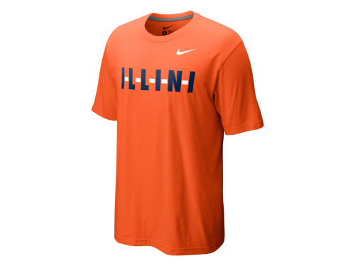 Illinois Fighting Illini Nike NCAA My Schools Local T-Shirt