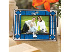 Los Angeles Dodgers Art Glass Picture Frame Bed & Bath
