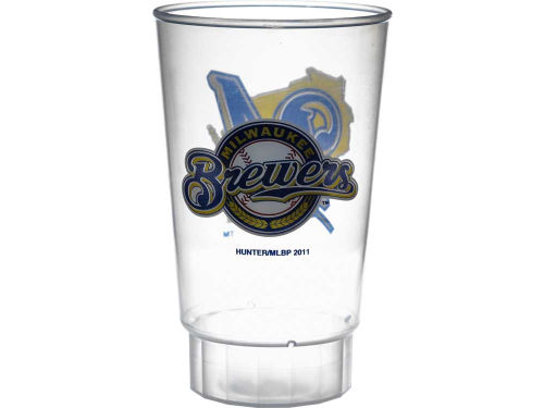 Milwaukee Brewers Hunter Manufacturing Single Plastic Tumbler