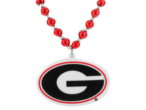 Georgia Bulldogs Team Logo Beads