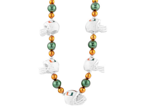 Miami Hurricanes Thematic Beads