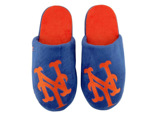 New York Mets Big Logo Slippers