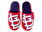 St. Louis Cardinals Team Beans Big Logo Slippers Apparel & Accessories