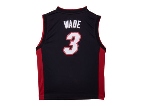 Miami Heat Dwayne Wade Outerstuff Youth NBA Revolution 30 Jersey