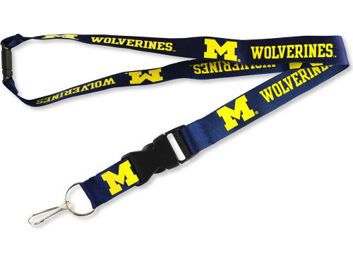 Michigan Wolverines Aminco Inc. Lanyard
