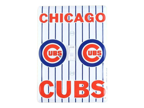 Chicago Cubs Light Switch Plate Cover