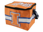 Illinois Fighting Illini Team Beans 6pk Lunch Cooler Home Office & School Supplies