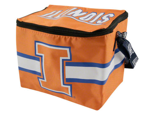 Illinois Fighting Illini Team Beans 6pk Lunch Cooler
