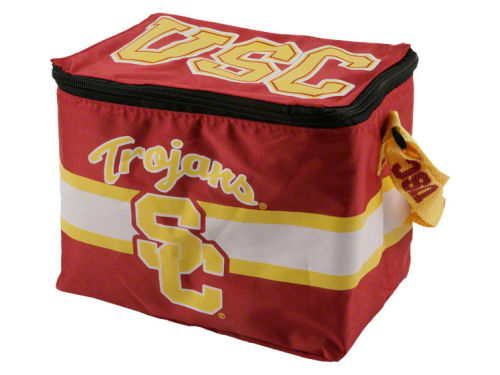 USC Trojans Team Beans 6pk Lunch Cooler