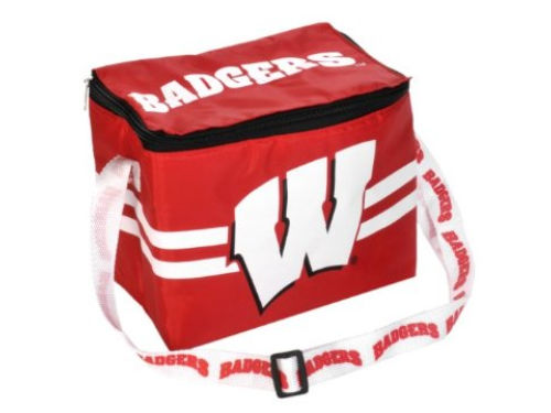 Wisconsin Badgers Team Beans 6pk Lunch Cooler