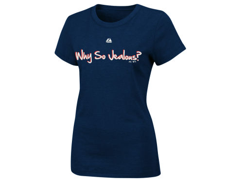 Boston Red Sox Majestic MLB Womens So Jealous T-Shirt