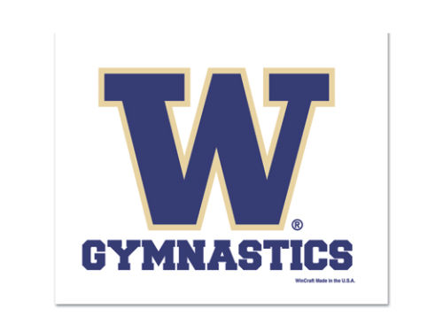 Washington Huskies Wincraft 3x4 Ultra Decal