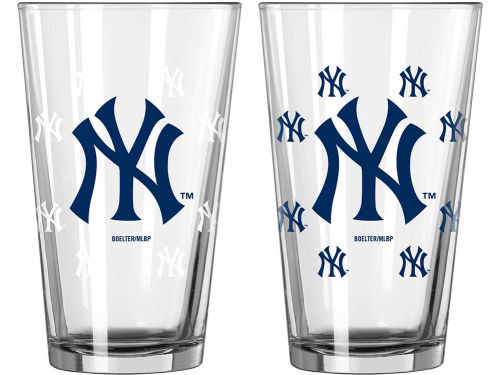 New York Yankees Boelter Brands 16oz Color Changing Pint Glass