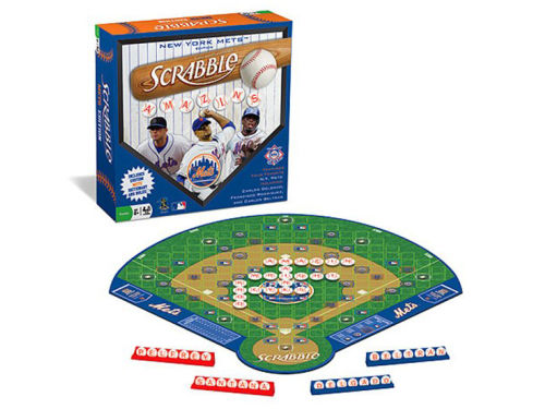 New York Mets Scrabble