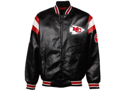 Kansas City Chiefs GIII NFL Pleather Jacket
