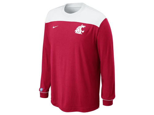 Washington State Cougars Nike NCAA Long Sleeve Shootaround Shirt