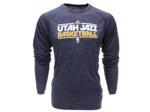 Utah Jazz NBA Heathered Practice T-Shirt