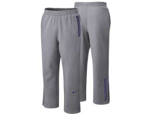 Washington Huskies Nike NCAA Practice Fleece Pant