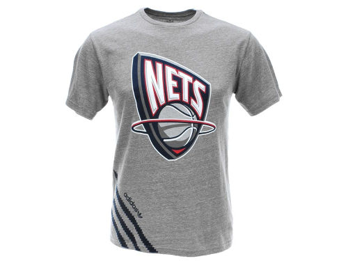 New Jersey Nets NBA H11 Big Stripes Tri-Blend
