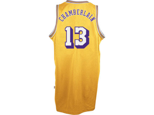 Los Angeles Lakers Wilt Chamberlain adidas NBA Retired Player Swingman Jersey