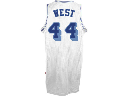 Los Angeles Lakers Jerry West adidas NBA Retired Player Swingman Jersey