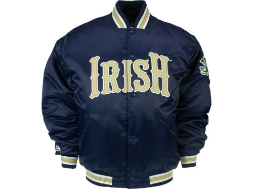 Notre Dame Fighting Irish VF Licensed Sports Group NCAA Satin Jacket