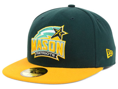 George Mason Patriots NCAA 2 Tone 59FIFTY Cap Hats