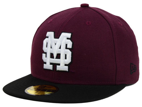 Mississippi State Bulldogs New Era NCAA 2 Tone 59FIFTY Cap Hats