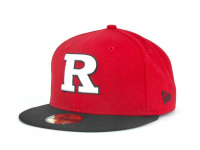 Rutgers Scarlet Knights NCAA 2 Tone 59FIFTY Cap Hats