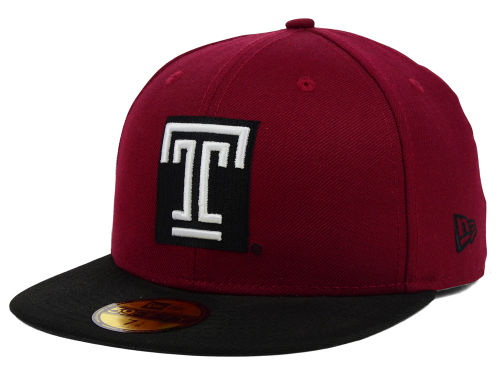 Temple Owls New Era NCAA 2 Tone 59FIFTY Cap Hats