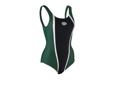New York Jets VF Licensed Sports Group Girls 1 Pc Swimsuit
