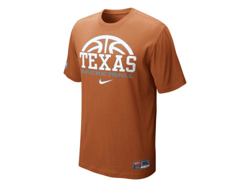 Texas Longhorns Nike NCAA Basketball Practice T-Shirt
