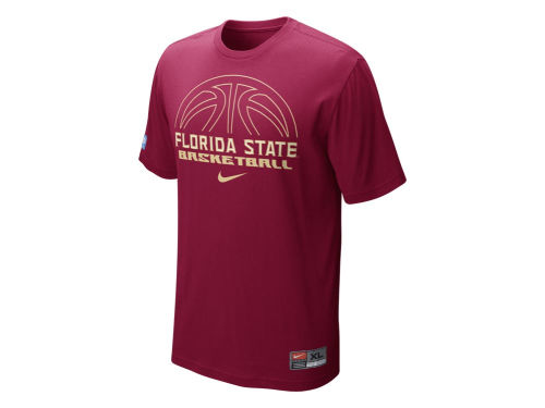 Florida State Seminoles Nike NCAA Basketball Practice T-Shirt