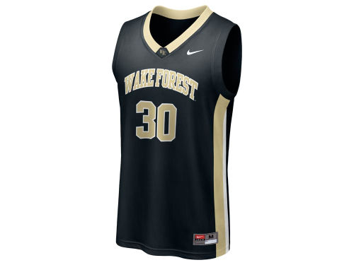 Wake Forest Demon Deacons #30 Nike NCAA Replica Basketball Jersey