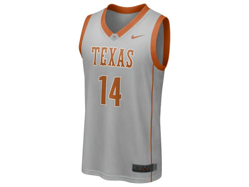 Texas Longhorns #14 Nike NCAA Replica Basketball Jersey
