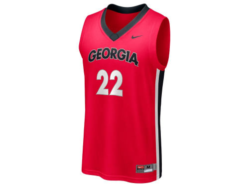 Georgia Bulldogs #22 Nike NCAA Replica Basketball Jersey
