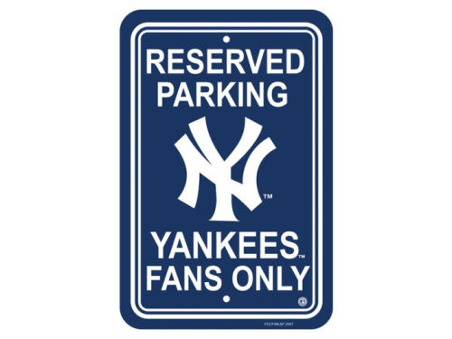 New York Yankees Reserve Parking Sign