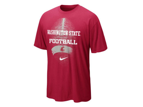 Washington State Cougars Nike NCAA Seasonal Football T-Shirt