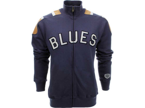 St. Louis Blues Old Time Hockey NHL Carbon Track Jacket