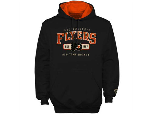 Philadelphia Flyers Old Time Hockey NHL Gauge Hoodie