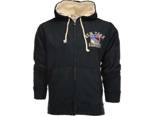 New York Rangers Old Time Hockey NHL Swabber Hoodie