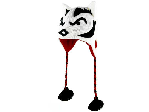 Wisconsin Badgers NCAA College Mascot Knit Hats
