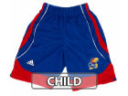 Kansas Jayhawks Outerstuff NCAA 4-7 Basketball Shorts