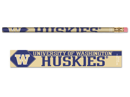 Washington Huskies Wincraft 6pk Pencils