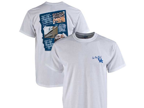 Kentucky Wildcats NCAA Song Page T-Shirt
