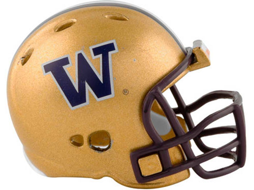 Washington Huskies Riddell NCAA Pocket Pro Helmets