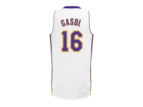Los Angeles Lakers Pau Gasol adidas NBA Revolution 30 Swingman Jersey